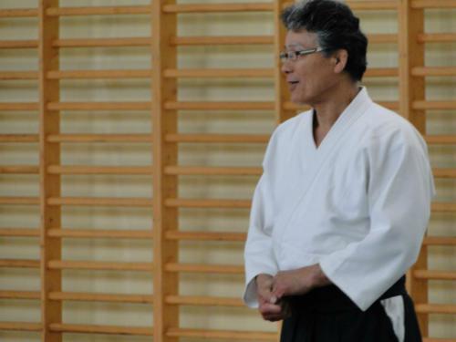 Seminarium z Hiromichi Nagano 7 DAN Sensei 11-13.05.2012 Będzin