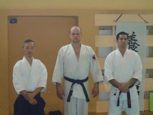 Seminarium z Chino Sensei 8 DAN Zabrze 30-31.05.2015
